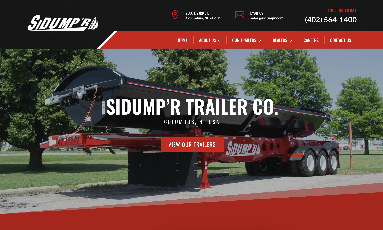 SIDUMP'R Trailers | Side Dump Trailers | Columbus, Nebraska